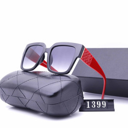 2021 lunettes de soleil européennes Newest imported materials polarized European brand sunglasses fashion Men Women Designer Sunglasses Women Large Frame Outdoor Sunglass 9399 lunettes de soleil européennes pas cher