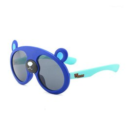 bambini ragazza occhiali da sole polarizzati Sconti Kilig Polarized Kids Sunglasses Boys Girls Baby NetCant Occhiali da sole UV400 Gel Silice Bella Bear Shades rosa per ragazze1