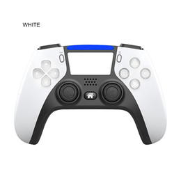 Ps4 онлайн-Новый беспроводной Bluetooth-контроллер для PS5 PS4 Shock Controllers Joystick GamePad Game Controller с пакетом Fast Shipping