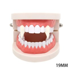 Party Devil Props Teeth Zombie Ghost Dentures Cosplay Vampire Halloween 6T