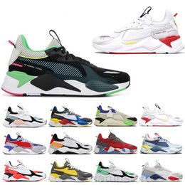 Espreitadelas on-line-Novo RS-X Reinvenção Mens Sapatos Casuais Multicolor Preto Fashion Creepers Dad High Quality Homens Mulheres Trainer Sports Sneakers 36-45 K2R5