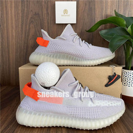tênis 48 Desconto Top Comfort Mens Running Shoes Womens Best Sports Sneakers Kanye Deserto Sage Terra Estática Zyon Cauda Light Cinder com Bola Oeste Tamanho 36-48