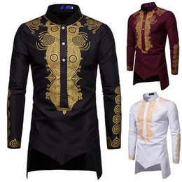 mann welt kleid Rabatt Dashiki Shirt Men Fashion Africa Clothing Long Pullovers African Dress Clothes Hip Hop Robe Africaine Casual World Apparel C1210