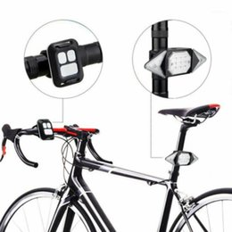 Indicadores de bicicleta ligeras online-LED Bicycle USB Indicador Bici Tail Tail Trans Turn Sign Light Light Inalámbrico Indicador remoto Luz Light Lights ACCESORIOS DE COCHE1