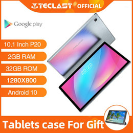 teclast comprimidos de núcleo octa Desconto Tablets Android Teclast P20 10,1 polegadas 2GB RAM 32GB ROM 1280 × 800 6000mAh Battary Octa Core Ai Speed-up1