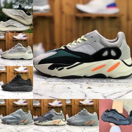 kanye west schuhe yeezy boost Rabatt New Kanye 700 V3 Mens Sports Shoes West V2 Azael Alvah Azareth Utility Black Wave Runner MNVN Solid Grey Inertia Womens Designers Sneakers