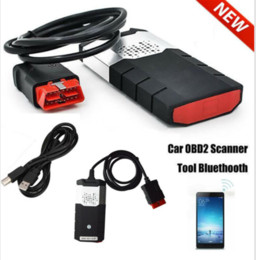 Scanner isuzu trucks on-line-Novo R3 CAR Truck OBD Diagnostic Scanner Kits VCI OBD2 TCS CDP Scanning Aparelho R Bluetooth USB para Delphi DS150E