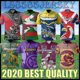Magliette da rugby casuali online-S-5XL 2021 North Queensland Cowboys Polo Camicie Casual Wear Rugby Jersey Jersey 2020 Nrl Rugby League Jerseys Australia rugby Top Quality