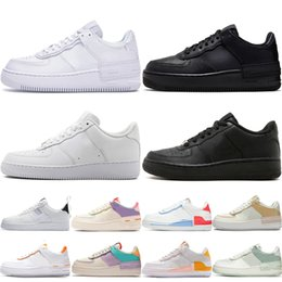 Zapatos de lona ocasionales del deporte online-force 1 af1 2019 Canvas 1970s Star Ox Luxury Designer Casual Shoes Hi Reconstructed Slam Jam Black Reveal White Hombres Mujeres Zapatillas de deporte Chaussures