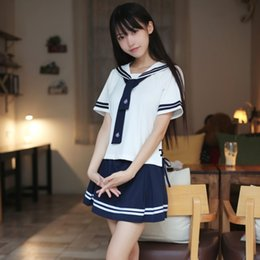 Coreano terno feminino on-line-Japanese Department School Sailor Japão Korea Terno Academia Mostrar fantasia Animação Cos Uniform Feminino