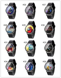 boutique-spiele Rabatt Hot Game Watch Cartoon Game Print Watch Unisex Uhren Designer Armbanduhr Analoge Armbanduhren Armband Boutique F112104