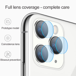 Vetri temperati online-2.5D Camera Telecamera Glasses Indietro Lens Anti Scratch Fiber Screen Protector Film per iPhone 12 Mini 11 Pro XS Max XR x 8 7 con scatola al minuto