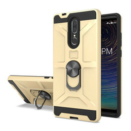 Coolpad cover online-Schwere Robuste Rüstung Ring Car Mount Fall für CoolPad Legacy S Xiaomi Redmi Hinweis 8 Pro 8A Abdeckung W / Kickstand