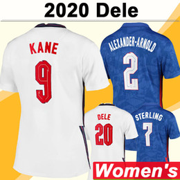 Camisolas senhora on-line-2020 Kane Rashford Mulheres Futebol Jerseys New Sterling Delale Home Away Futebol Camisa Gomez Tripier Rose Maddison Senhora Uniformes