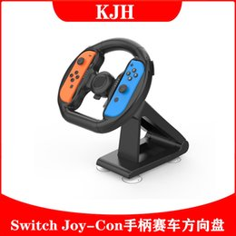 2021 blocco del cuscino Switch Racing Stewering Wheel JoyCon Bar End Slower Water Pillow Block Cuscinetto NS Game Maniglia Volante Staffa