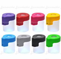 Pill Box Navy Purple Lavender Stash Jar Storage Jar Pill Case Dab Container 098