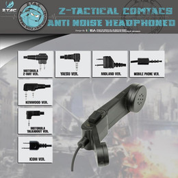 z taktisches headset Rabatt Z-tactical Headset PZ117 Retro US Army Communication Device H-250 Telefon Midland Zubehör