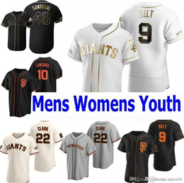 giants maglia da baseball  Sconti San Francisco 2020 Buster Buster Posey Giants Brandon Crawford Kevin Pillar Yastrzemski Longoria Belt Jerseys Uomo Donna Giovanita Baseball