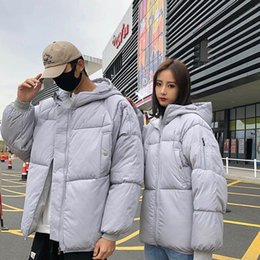Pares revestimento treino on-line-Unisex Down Jacket Couple Outfit Sleeers Mens Tracksuit Homens Inverno Casacos Homens Homens Homens S Roupas Sueter Hoodies Winter Jacket