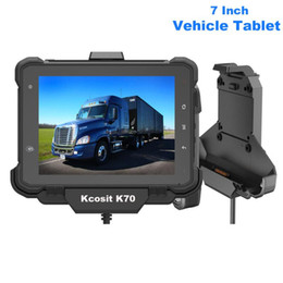 2021 7 pouce tablet pc  Original KCosit K70 Tablet Android Tablet PC IP67 7 pouces Panneau industriel RS232 Can Bus Bus ELD 4G LTE OBD Fleet Management