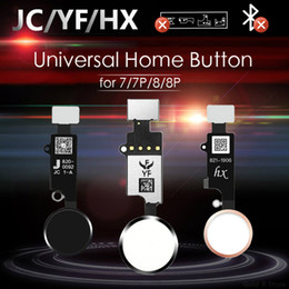 Iphone gen on-line-JC / MEIBI 5º YF HX 3RD Gen Universal Button para iPhone 7 7G 8 8G Plus Menu Teclado Return On Off Função