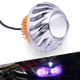 Ktm 125 duque online-Para KTM DUKE 200 390 125 690 RC200 RC390 RC125 RC8 450SX Motorcycle LED LED Ángel Eye Feurlamp Footlight Footlight