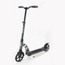 scooter de rueda grande Rebajas Aero doble suspensión 200 mm Big Wheel Adult offroad Kick Scooter C8