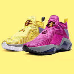 Scarpe lebron stati uniti d'america in vendita-Soldato dei lebrons Mens 14 Xiv Ep Sisterhood Kay Yow Lakers University Red USA Womens Kids Scarpe da basket da vendere con box sneakers store