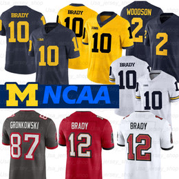 2021 translate exception! Michigan Wolverines Jersey Desmond Howard 10 Tom Brady 2 Charles Woodson Shea Patterson NCAA Футбол Джерси