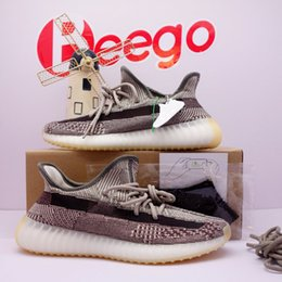 Portachiavi per gli uomini online-yeezy yeezys yezzy yezzys yzy boost 350 sply [Shipped ASAP] kanye west v2 running shoes yecher ash stone clay earth desert sage carbon womens men sports sneakers 36-47
