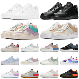 mens alte scarpe da corsa Sconti platform shoes shadow men women running shoe triple white black Spruce Aura skateboard high low top mens trainers sports sneakers