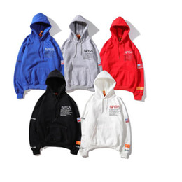 2021 capuz de heron preston  Sweater de marca de moda europeia e americana co-branded suéter Preston Multicolor Multicolor Solto Mens e Womens Hoodies Nasa Esquerda e Direita Bolsos