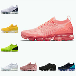 Max schuhe heiß online-Nike Air Max Vapormax 2.0 Shoes New airmax flyknit Neue 2021 2.0 Strick 3,0 Herren Laufschuhe MOC Hot Punch Cinder Triple Black White Grey Volt Safari Red Orbit Womens Runner