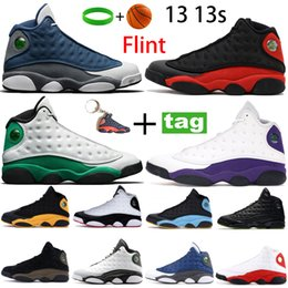 2021 superiore reversibile Top 13 13s Scarpe da basket Flint Riflettente Lucky Green Starfish Reverse Reverse ha ottenuto Game Mens Running Sneakers Bred ha ottenuto Game Trainer