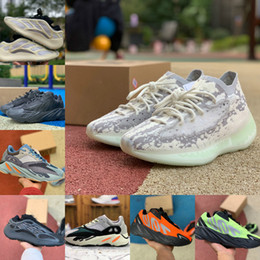 Chaussures de sport adidas en Ligne-Adidas yezzy 700 yeezy Boost sply V2 Shoes 2021 Nouvelle Kanye 700 V3 Chaussures de sport pour hommes Chaussures de course 380 Azael Alvah Utility Black Wave Runner