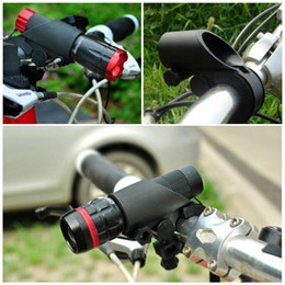 2021 morsetti accessori per biciclette Portable Bicycle Light Stand Bike Lamp Holder Grip LED Clip Clip Mount Bracket Accessori Accessori Maniglia