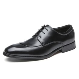 2021 borde le scarpe in pelle 2021 Nuove Four Seasons Business Casual Shoes Formal Formal Shoes Leather Shoes Giapponese Giapponese Gentleman Shoes