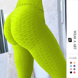 leggings di tendenza Sconti Leggings Lady Push Up Leggings Trend Sport Leggings Moda Donna Fitness High Vita Yoga Pantaloni Anti Cellulite Pantalon Taille Haute