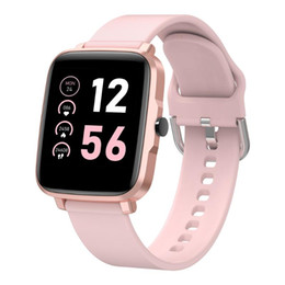 orologio intelligente curvo Sconti Smartwatch 1,54 pollici 2.5D curvo touch screen full ip68 resistenza all'acqua 11 Modalità sportiva Dynamic HR + BP Periodi Traccia Smart Watch