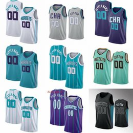 Kundenspezifische basketball jerseys online-Benutzerdefinierte 2 Lamelo Ball Basketball-Trikots Gordon 20 Hayward Charlotte
