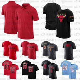 toros camisetas Rebajas Hombres Fans de Baloncesto Tops Tees Chicago