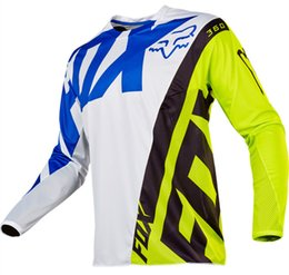 Maglietta tld online-New Tld Cycling T-Shirt Long Manica Corta Top Summer Motorcycle Racing Sportswear Downwear traspirante