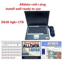 Laptops 4gb on-line-Todos os dados Auto Repair AllData Soft-Ware Mit e ATSG Soft-Ware no HDD 1TB instalado bem no laptop D630 4GB