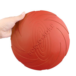 Wholesale Flying Dogs - Lemonbest 22cm Eco -Friendly Pet Product Natural Rubber Material Pet Dog Toy Frisbee Dog Training Fetch Toys Dogs Training Flying