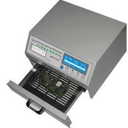 Wholesale Reflow Solder - QS-5100 600W Desktop Automatic Lead-Free Reflow Oven for SMD Rework, solder area 180*120mm