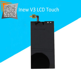 """Wholesale Original V3 Cell Phone - Wholesale-NEW Original For 5"""" Inew V3C LCD Display Touch Digitizer Assembly Replacement Parts For inew v3 cell phone hot selling"""