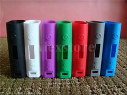 Kanger caixa mod bateria on-line-Caso de silicone casos de silício saco de manga de borracha colorido capa protetora sílica gel pele para kanger kangertech subox mini 50 w caixa de bateria mod