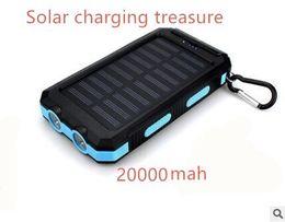Wholesale Solar Models - Wholesale blasting models to take light compass 20000 milliampere mobile power universal mobile solar charging treasure