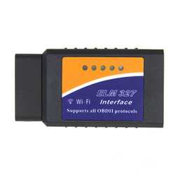 Wholesale Dodge Obd2 - High Quality ELM 327 ELM327 WIFI ELM 327 OBD2 OBDII Auto Diagnostic Tool ELM 327 Wifi Wireless for Android IOS