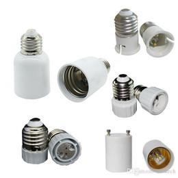 Wholesale E27 B22 Adaptor - E27 Turn to E40 Adaptor LED Lamp Adapter LED Lamp Holder Screw E14 E26 B22 light Socket Wedge GU5.3 GU10 G9 MR16
